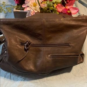NinoBOSSI genuine leather handbag